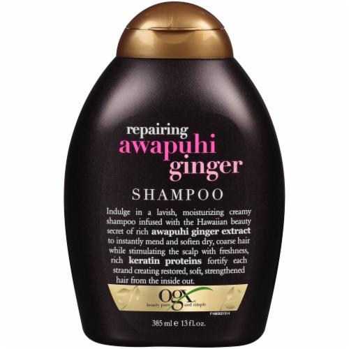 OGX Repairing Awapuhi Ginger Shampoo Perspective: front