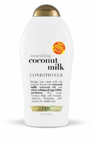OGX Nourishing + Coconut Milk Conditioner Perspective: front