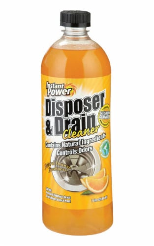 Instant Power Liquid Garbage Disposal & Drain Cleaner 1 L - Case Of: 4; Perspective: front