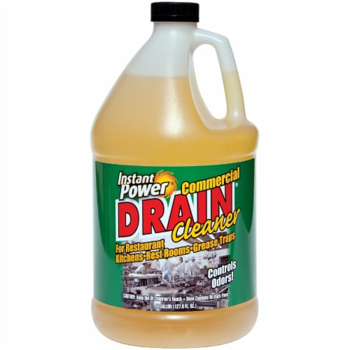 Instant Power Liquid Drain Cleaner 1 gal. - Case Of: 4; Perspective: front