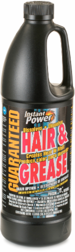 Instant Power Hair and Grease Drain Opener Perspective: front