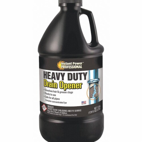 Instant Power Professional Heavy-Duty Drain Opener,1 gal.,PK3 Perspective: front