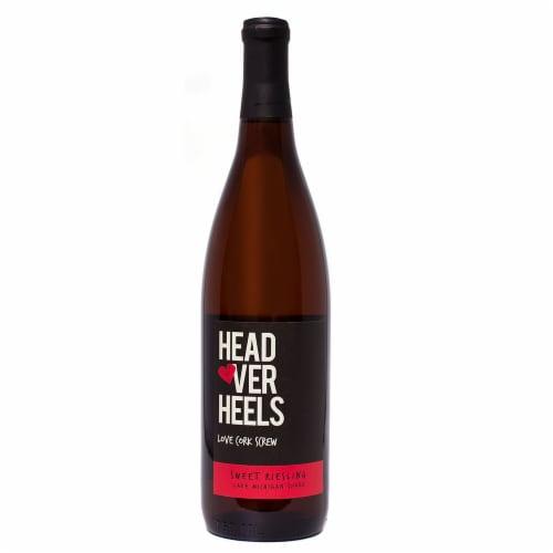 Love Cork Screw Head Over Heels Sweet Riesling Perspective: front