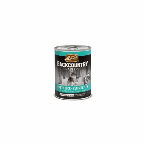 Animal Supply Company MP37121 Backcountry Hearty Duck And Venison Stew Perspective: front