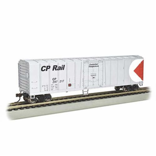 Bachmann BAC17959 N ACF 50 ft. Steel Reefer Model Train - CP Perspective: front