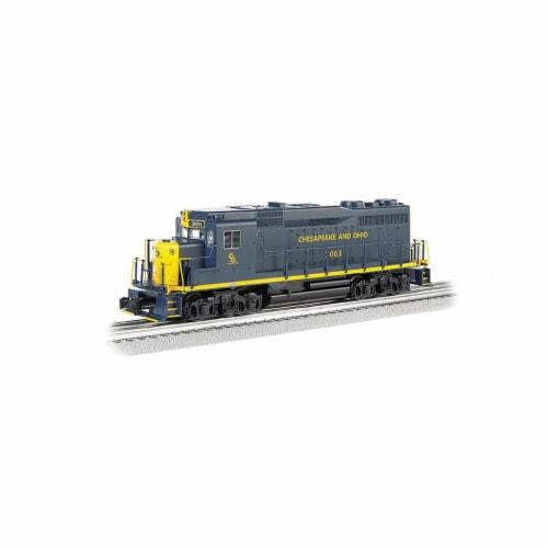 Bachmann BAC22906 Chesapeake & Ohio No.974 GP30 Model Train with Dynamic Brake Perspective: front