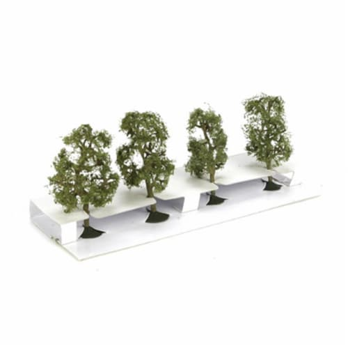 Bachmann BAC32109 SS 2.5 in.- 2.75 in. Sycamore Trees - 4 Perspective: front