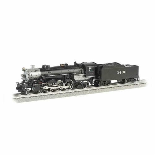Bachmann BAC40803 O Williams Pacific Santa Fe No.3430 Semi-Scale 4-6-2 Model Train Perspective: front