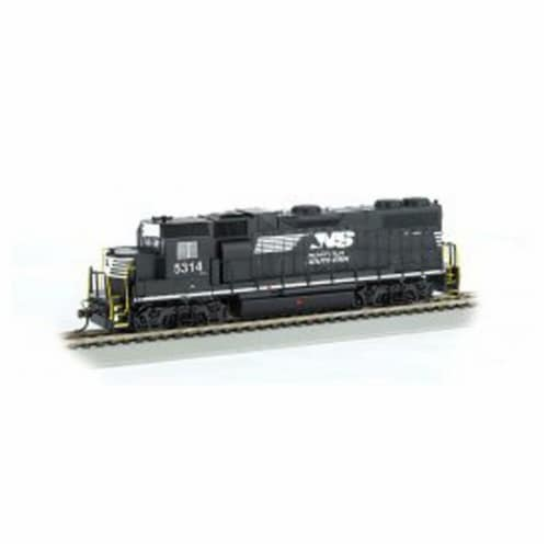 Bachmann BAC61721 HO GP38-2 NS & Thoroughbred No.5314 Model Train Perspective: front