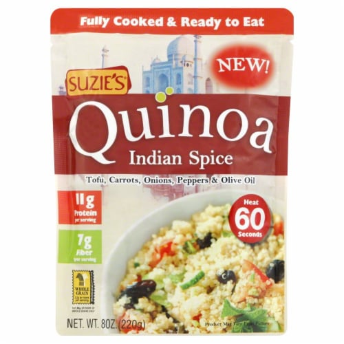 Suzie's Indian Spice Quinoa Perspective: front