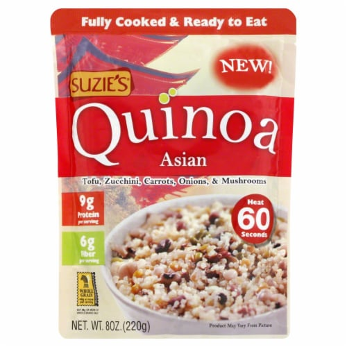 Suzie's Asian Quinoa Perspective: front