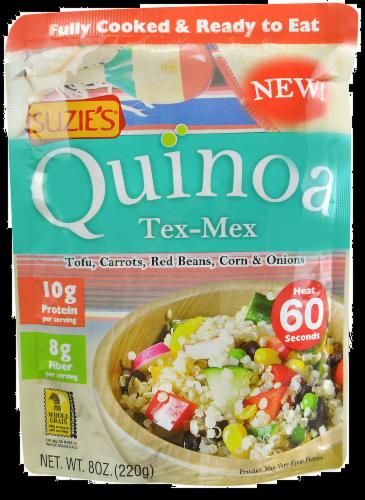 Suzie's Tex-Mex Quinoa Perspective: front