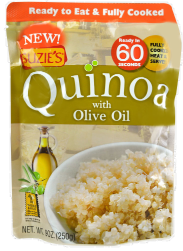 Suzie's Quinoa with Olive Oil Perspective: front