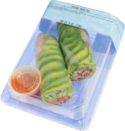 Avocado Salad Roll Perspective: front