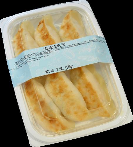 Kroger Grilled Dumplings Perspective: front