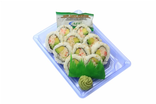 Advanced Fresh Concepts California Salad Roll (NOT AVAILABLE BEFORE 11:00 am DAILY) Perspective: front