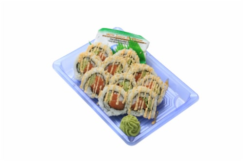 Sushi Spicy Alaskan Roll Perspective: front