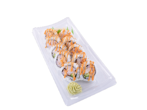 Spicy Shrimp Roll Perspective: front