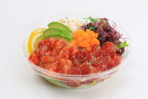 Advanced Fresh Concepts Premium Spicy Hawaiian Poke Bowl  (Not Available Before 11am Daily) Perspective: front