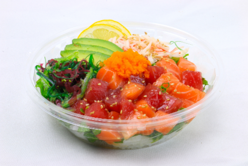 Advanced Fresh Concepts Premium Hawaiian Poke Bowl (Not Available Before 11am Daily) Perspective: front
