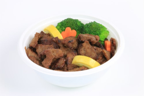 Advanced Fresh Concepts Asian BBQ Beef Bowl Perspective: front