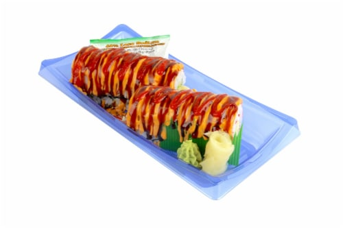 Advanced Fresh Concepts Spicy Tiger Roll (NOT AVAILABLE BEFORE 11:00 am DAILY) Perspective: front