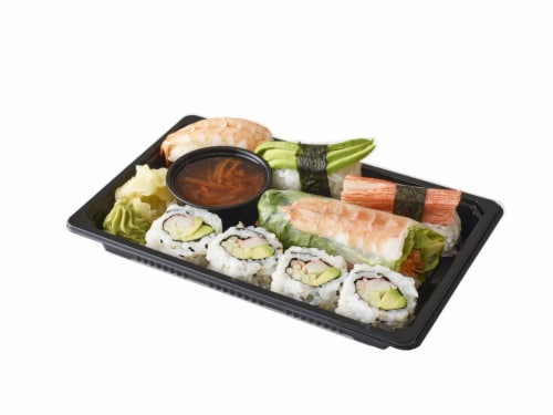 Advanced Fresh Concepts Spring Roll Sushi Combo Box Perspective: front