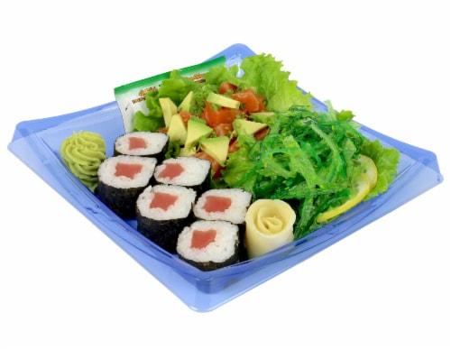 Advanced Fresh Concepts Salmon Poke Sushi Combo Box Perspective: front