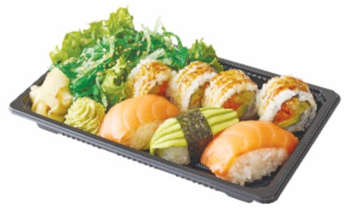 Healthy Sushi Combo Box Perspective: front