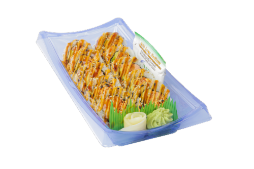 Advanced Fresh Concepts Spicy Grilled Salmon Roll Perspective: front