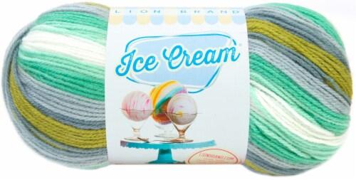 Lion Brand Ice Cream Yarn-Pistachio Perspective: front