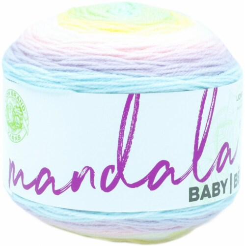 Lion Brand Mandala Baby Yarn-Diagon Alley Perspective: front