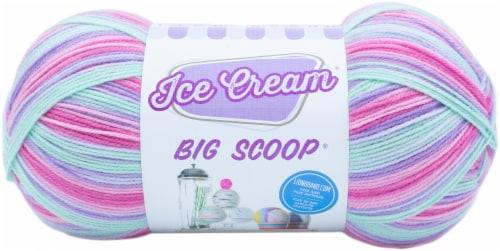 Lion Brand Ice Cream Big Scoop Yarn-Unicorn Perspective: front