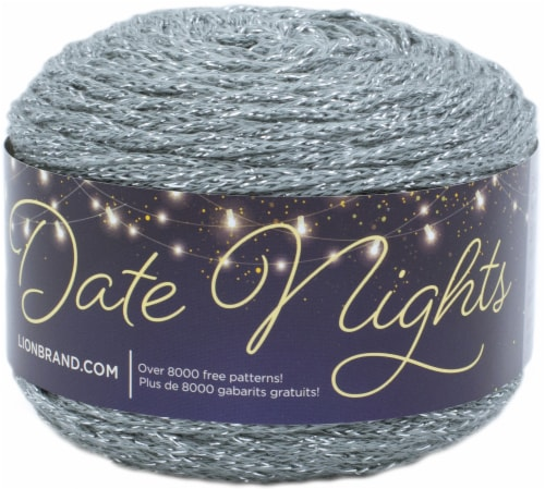 Lion Brand Date Nights Yarn-Tree Agate Perspective: front