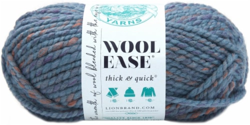 Lion Brand Wool-Ease Thick & Quick Yarn-Allure Perspective: front