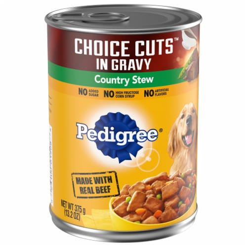 Pedigree Choice Cuts in Gravy Country Stew Wet Dog Food Perspective: front