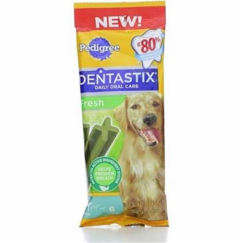 Pedigree Dentastix Large Dog Fresh Flavor Dog Treats Perspective: front