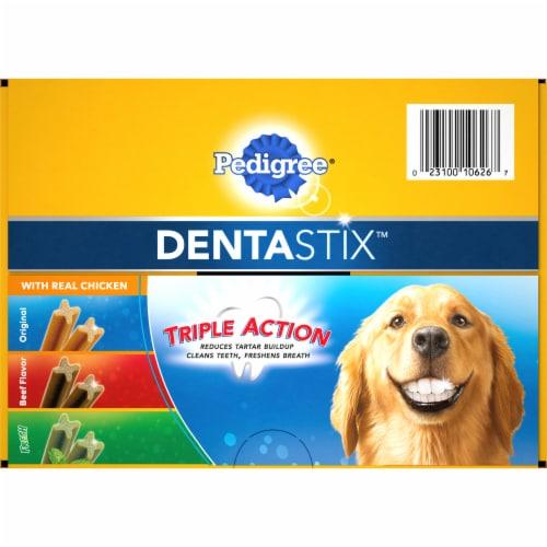 Pedigree Dentastix Large Dog Dental Treat Variety Pack Perspective: front