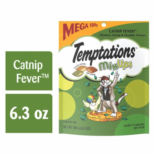 Temptations MixUps Catnip Fever Flavor Cat Treats Perspective: front