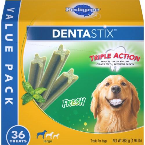 Pedigree Dentastix Fresh Large Dog Treats Perspective: front