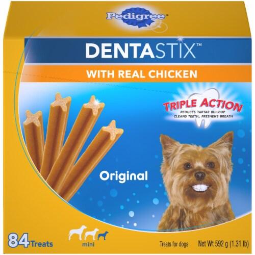 Pedigree Dentastix Original Mini Dog Treats Perspective: front