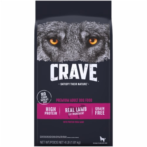 Crave Grain Free with Protein From Lamb & Venison Adult Dry Dog Food Perspective: front