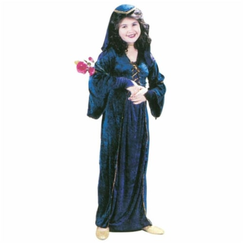 Costumes For All Occasions Fw1474Sm Juliet Velvet Chld Sm Perspective: front