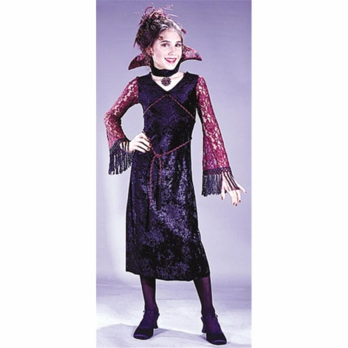 Costumes For All Occasions Fw5872Sm Gothic Lace Vampiress Ch Sm Perspective: front