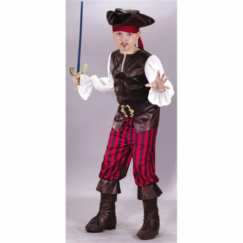 Costumes For All Occasions Fw5890Sm High Seas Buccaneer Chd Sml Perspective: front