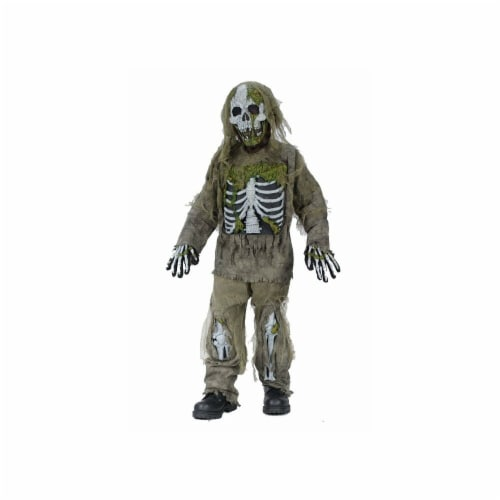Fun World Skeleton Zombie Child Costume Perspective: front