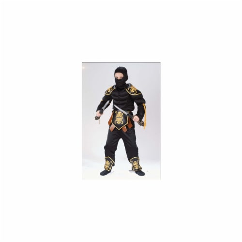 Costumes For All Occasions Fw8700Sm Ninja Warrior Muscle 4 To 6 Perspective: front