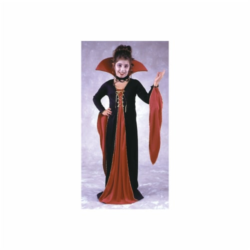 Costumes For All Occasions Fw8723Sm Victorian Vampiress Chld Sm Perspective: front