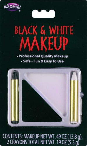 Fun World Makeup - Black / White Perspective: front