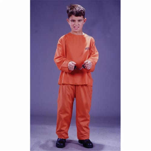 Costumes For All Occasions Fw9734Sm Got Busted Cost Child Sml Perspective: front